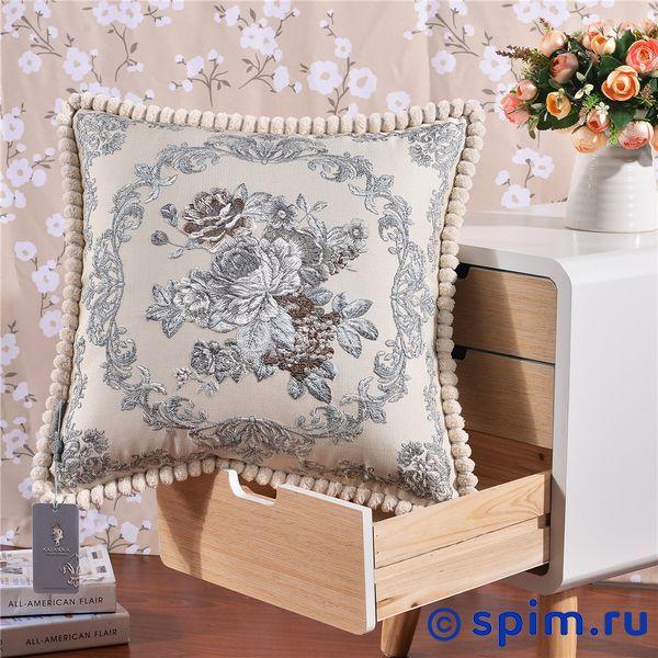 Декоративная наволочка Kazanov.a. Гобелен Венетто, платина