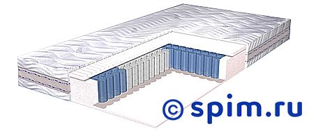 Матрас Lineaflex Klemente 160х200 смМатрасы Lineaflex Ergonomica<br>Пружины: независимые, 256 шт/кв.м, 7 зон Жесткий Пена на водной основе, 3 зоны Съемный чехол из Тенселя Высота: 26 см Нагрузка: до 140 кг  Размер Линеафлекс Клементе двуспальный: 160 x 200 см<br><br>Ширина см: 160<br>Длина см: 200<br>Линейка: Ergonomica