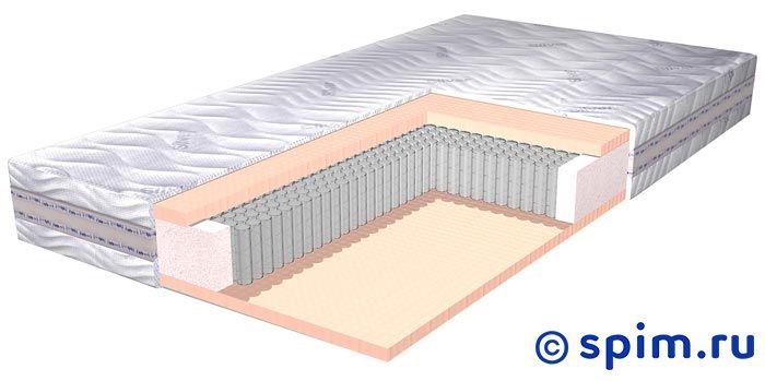 Матрас Lineaflex Sonnodoro 120х190 смМатрасы Lineaflex Ergonomica<br>Пружины: независимые, 520 шт/кв.м Мягкий Mirror Form с эффектом памяти Съемный чехол: хлопковый трикотаж с нитями серебра Высота: 24 см Нагрузка: до 140 кг  Размер Линеафлекс Соннодоро 1,5-спальный: 120 x 190 см<br><br>Ширина см: 120<br>Длина см: 190<br>Линейка: Ergonomica