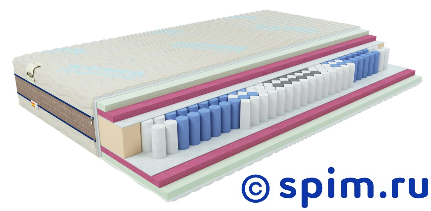 Матрас Honnemed Leben L 120х200 смМатрасы Honnemed<br>Блок Nine Touches: независимые пружины (290 шт/м2) + пенопружины (100 шт/м2), 9 зон комфорта; Жесткость: средняя; Натуральная соя Soya Foam с эффектом памяти высотой 3 см; Натуральная соя Solid Foam высотой 3 см; Съемный чехол Lein 3D: трикотаж с волокнами льна, с дышащей полоской, ручки; Высота, см: 27; Нагрузка, кг: до 105.  Размер Хоннемед Либен полутораспальный: 120 x 200 см<br><br>Ширина см: 120<br>Длина см: 200