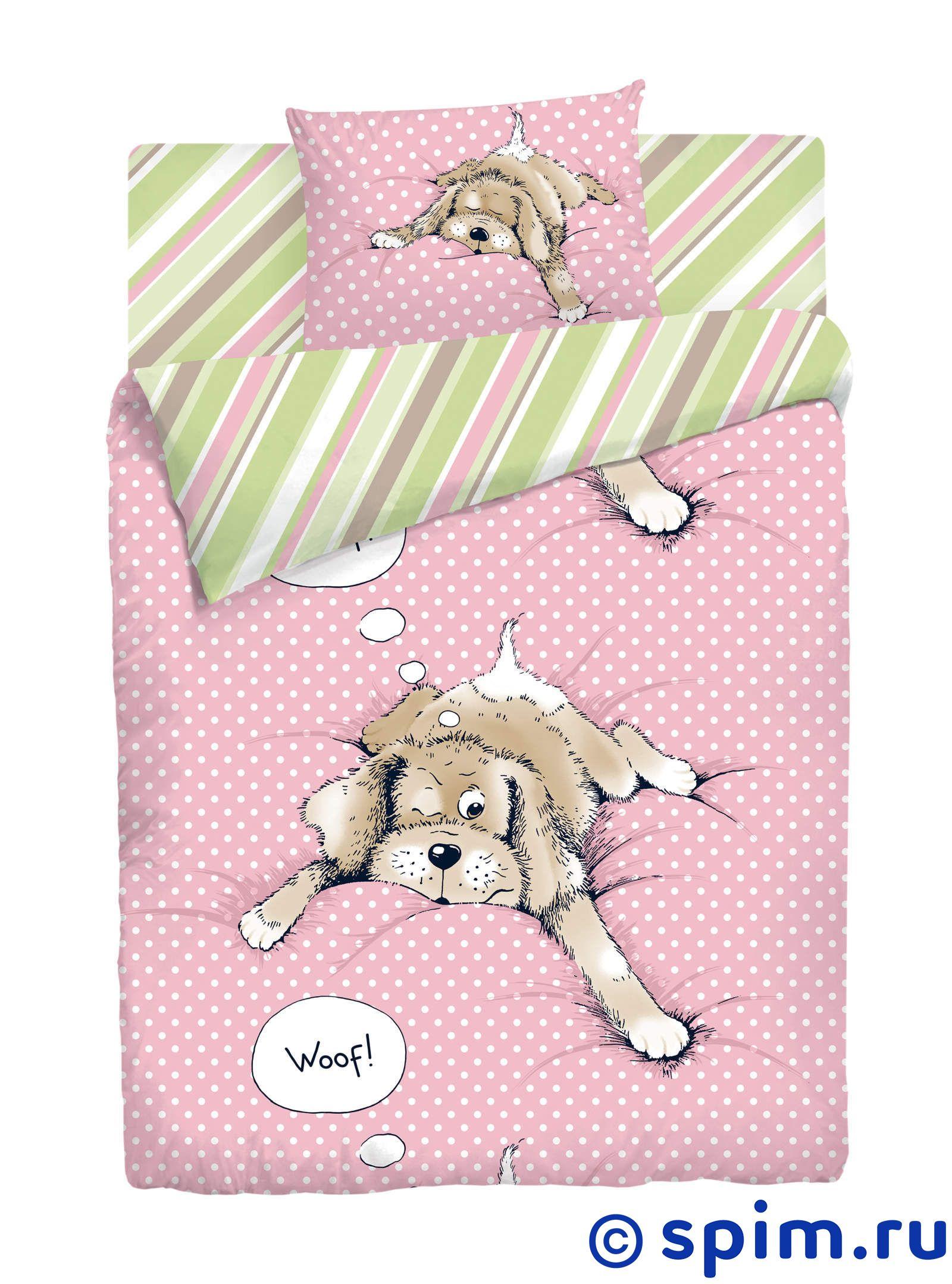 Комплект Нордтекс Спящая собакаДетское постельное белье Нордтекс<br>Материал: 100% хлопок, бязь люкс. Плотность, г/м2: 120.<br>