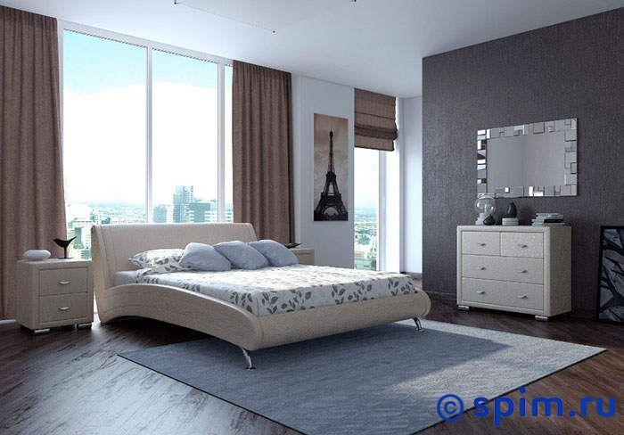Кровать Орматек Corso-2 цвета люкс 140х190 смКровати Орматек<br>Материал: рама - Мдф, обивка – экокожа класса Люкс, ножки – хром. Размер Корсо-2 Ormatek двуспальный: 140 x 190 см<br><br>Ширина см: 140<br>Длина см: 190