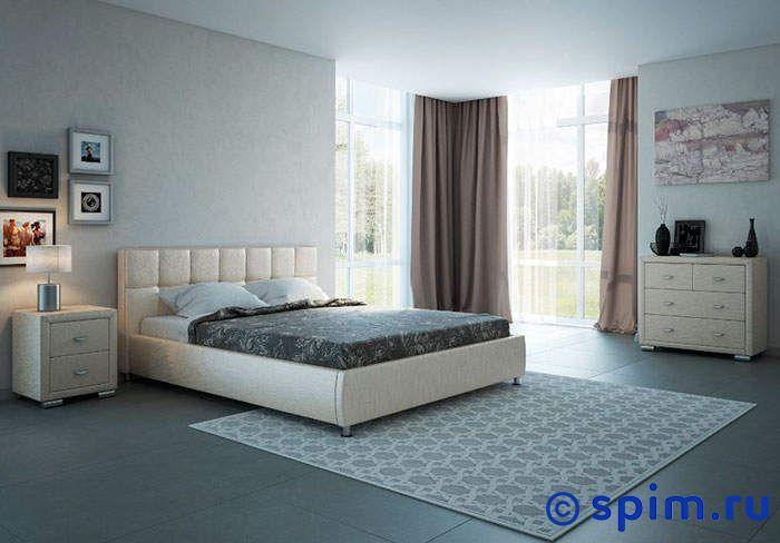Кровать Орматек Corso-4 цвета люкс 180х190 смКровати Орматек<br>Материал: рама - Мдф, обивка – экокожа класса Люкс. Размер Корсо-4 Ormatek двуспальный: 180 x 190 см<br><br>Ширина см: 180<br>Длина см: 190