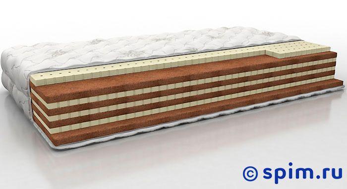 Матрас Perrino Амбер Макс 90х190 смБеспружинные матрасы Perrino<br>Разносторонний матрас на основе чередующихся слоев натурального латекса и кокосовой койры. Съемный трикотажный чехол. Нагрузка: до 140 кг. Высота: 24 см. Размер Перрино Amber Max односпальный: 90 x 190 см<br><br>Ширина см: 90<br>Длина см: 190