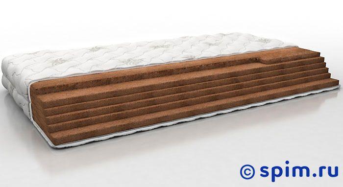 Матрас Perrino Элетоп 120х195 смБеспружинные матрасы Perrino<br>Жесткий матрас на основе кокосовой койры. Съемный трикотажный чехол. Нагрузка: до 140 кг. Высота: 14 см. Размер Перрино Eletop: 120 x 195 см<br><br>Ширина см: 120<br>Длина см: 195