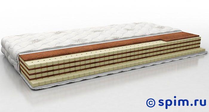Матрас Perrino Кайзер 160х195 смБеспружинные матрасы Perrino<br>Разносторонний матрас на основе чередующихся слоев натурального латекса и кокосовой койры. Съемный трикотажный чехол. Нагрузка: до 140 кг. Высота: 14 см. Размер Перрино Kaizer двуспальный: 160 x 195 см<br><br>Ширина см: 160<br>Длина см: 195
