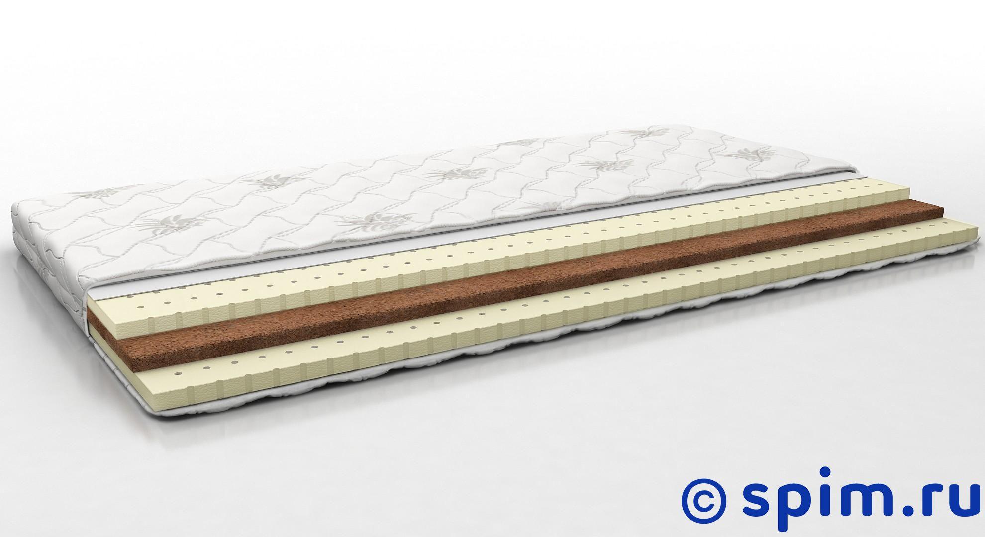 Матрас Perrino Кроха 120х190 смДетские матрасы Perrino<br>Матрас средней жесткости на основе слоя кокосовой койры и 2-х слоев натурального латекса. Съемный трикотажный чехол. Нагрузка: до 50 кг. Высота: 7 см. Размер Перрино Krocha 1,5-спальный: 120 x 190 см<br><br>Ширина см: 120<br>Длина см: 190<br>Линейка: Kids
