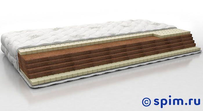 Матрас Perrino Оберон 200х190 смБеспружинные матрасы Perrino<br>Матрас средней жесткости на основе кокосовой койры, с прослойками натурального латекса. Съемный трикотажный чехол. Нагрузка: до 140 кг. Высота: 13 см. Размер Перрино Oberon 2-спальный: 200 x 190 см<br><br>Ширина см: 200<br>Длина см: 190