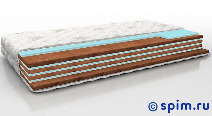 Матрас Perrino Парис Макс 120х195 смБеспружинные матрасы Perrino<br>Разносторонний матрас на основе чередующихся слоев эрголатекса и кокосовой койры. Съемный трикотажный чехол. Нагрузка: до 140 кг. Высота: 17 см. Размер Перрино Paris Max: 120 x 195 см<br><br>Ширина см: 120<br>Длина см: 195