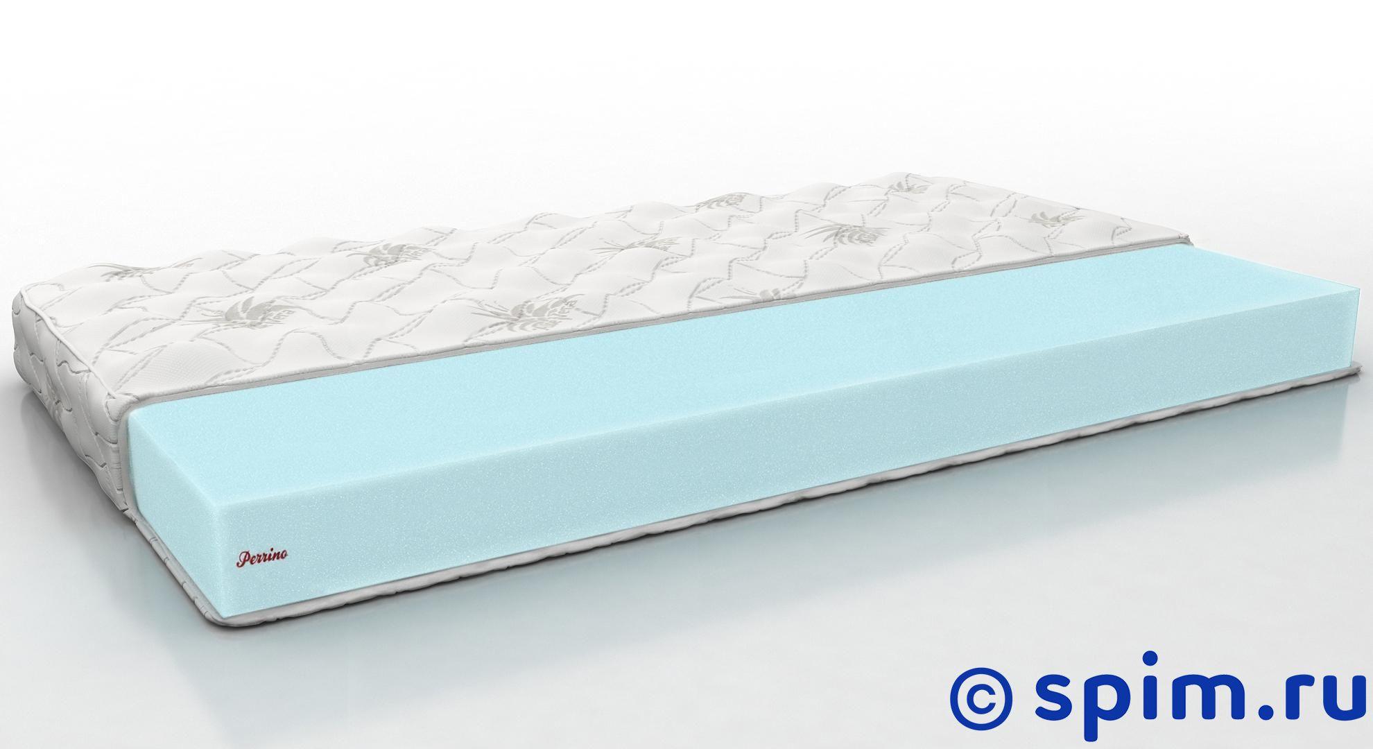 Матрас Perrino Плекс мини 160х195 смБеспружинные матрасы Perrino<br>Матрас средней жесткости на основе блока Эрголатекса. Съемный трикотажный чехол. Нагрузка: до 80 кг. Высота: 10 см. Матрас шириной до 160 см поставляется в скрученном виде. Матрас шириной от 161 см поставляется в полном размере. Размер Перрино Plex mini двуспальный: 160 x 195 см<br><br>Ширина см: 160<br>Длина см: 195