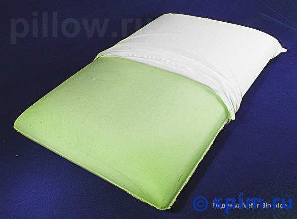 Подушка Vefer Bio Aloe GU 01Подушки Vefer<br>Мягкая подушка классической формы из материала с эффектом памяти c добавлением натурального экстракта Aloe Vera и с эффектом антидавления. Объемный вес: 52 кг/м3. Размеры, см: 42 х 72. Высота, см: 12. Съемный хлопковый трикотажный чехол.<br>