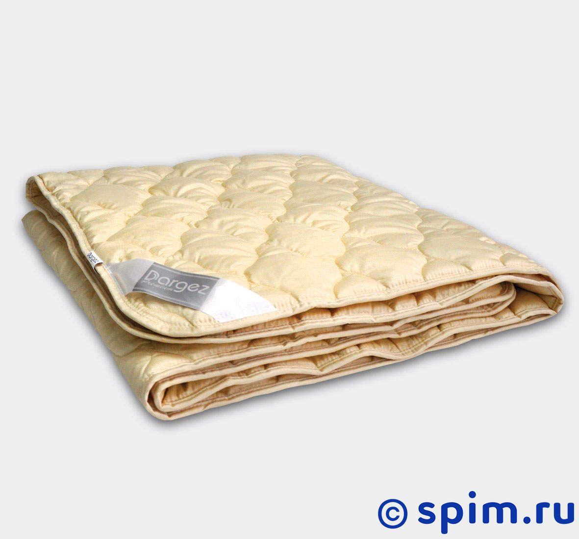 Одеяло Dargez Арно легкое 170(172)х205 смОдеяла и подушки Dargez<br>Наполнитель: шерсть мериноса. Ткань чехла: гладкокрашеный сатин (100% хлопок). Размеры, см: 140х205, 172х205, 200х220. Размер : 170(172) x 205 см<br><br>Ширина см: 170(172)<br>Длина см: 205