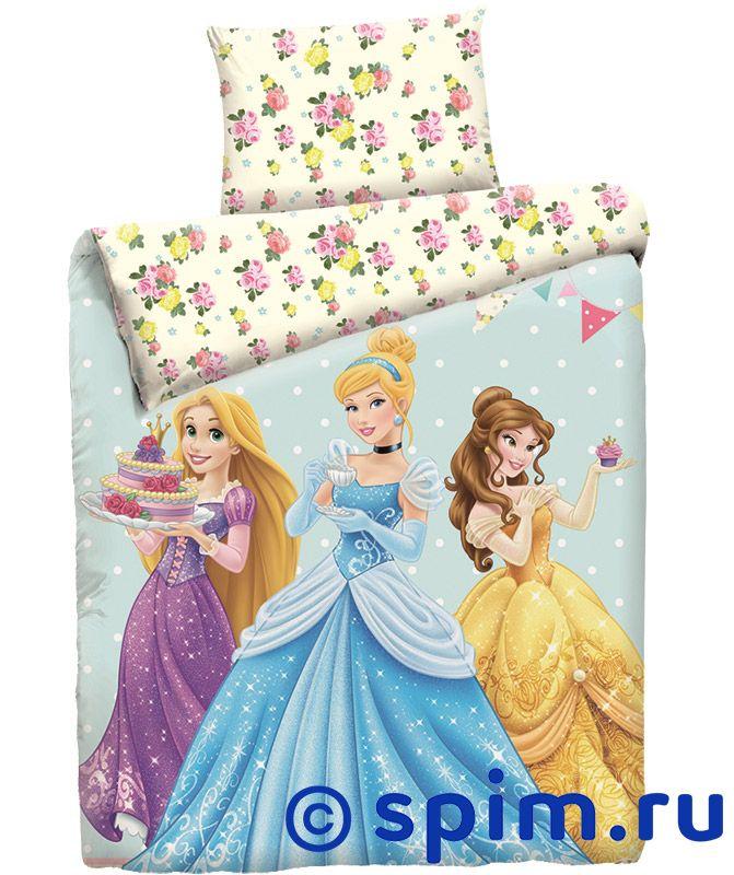 Постельное белье Disney Принцессы с десертом от spim.ru