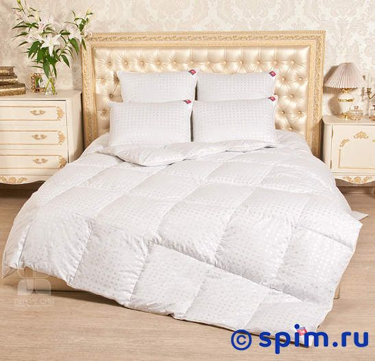Пуховое одеяло Легкие сны Афродита, легкое 110х140 см
