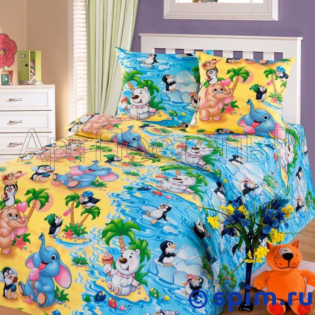 Комплект Чудо-остров АртПостельДетское постельное белье АртПостель<br>Материал: 100% хлопок, бязь. Плотность, г/м2: 125.<br>