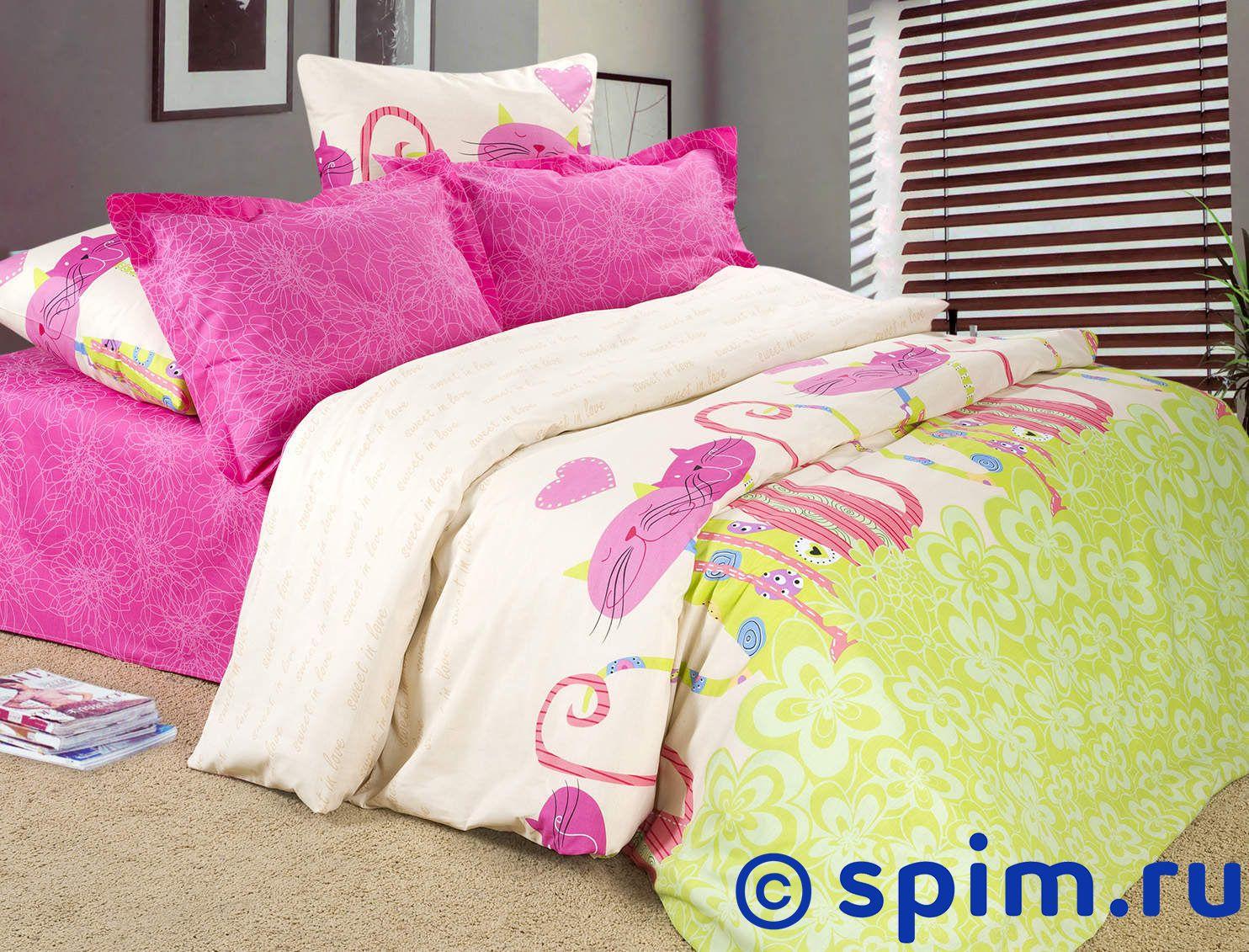 Комплект Адель Сладкая парочкаДетское постельное белье Адель<br>Материал: 100% хлопок, поплин. Плотность, г/м2: 105.<br>
