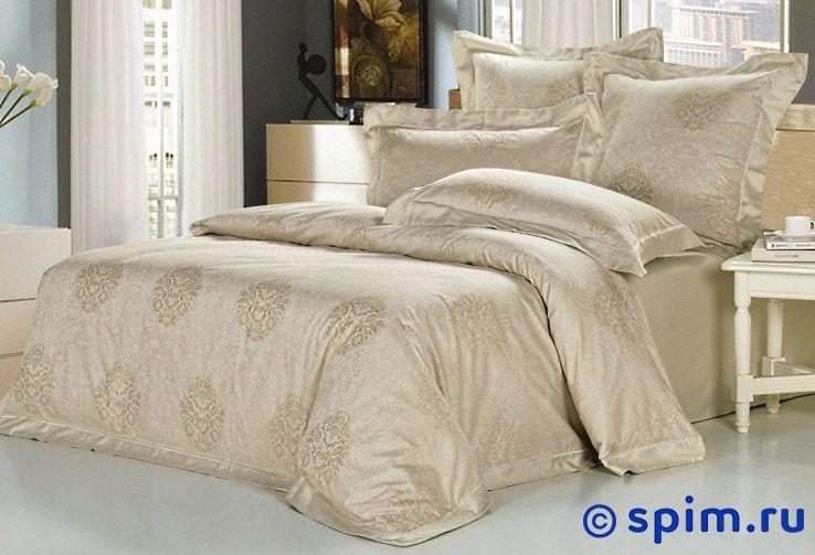 Комплект Kingsilk Ah-02 СемейноеЖаккардовое постельное белье KingSilk<br>Материал: жаккардовый сатин (100% хлопок). Плотность, г/м2: 130-135. Размер КингСилк Ан: Семейное<br><br>Размер: Семейное