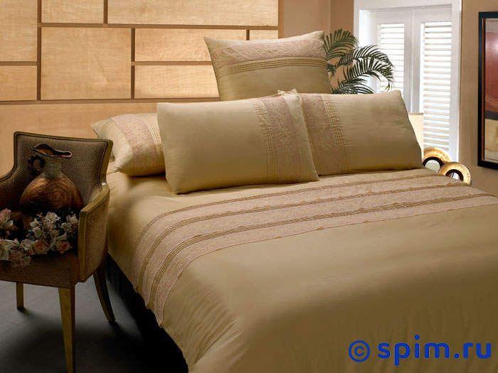 Комплект Kingsilk Ls-11 2 спальноеПостельное белье KingSilk<br>Материал: люкс-сатин (100% хлопок), с кружевом и 3D-вышивкой. Плотность, г/м2: 135-140. Размер Кингсилк Лс: 2 спальное<br><br>Размер: 2 спальное