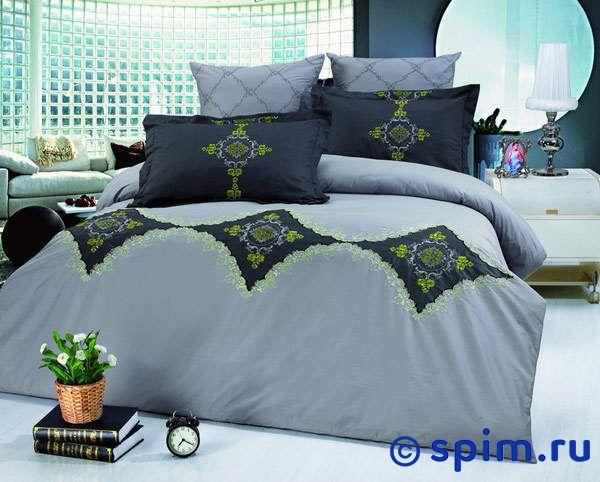 Комплект Kingsilk С-35 1.5 спальноеПостельное белье KingSilk<br>Материал: сатин с вышивкой(100% хлопок). Плотность, г/м2: 130-135. Размер Кингсилк С: 1.5 спальное<br><br>Размер: 1.5 спальное
