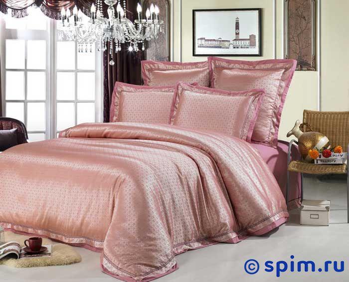 Комплект Kingsilk Sm-31 СемейноеЖаккардовое постельное белье KingSilk<br>Материал: жаккардовый шелк (70% хлопок, 30% вискоза). Плотность, г/м2: 130-135. Размер Кингсилк См: Семейное<br><br>Размер: Семейное