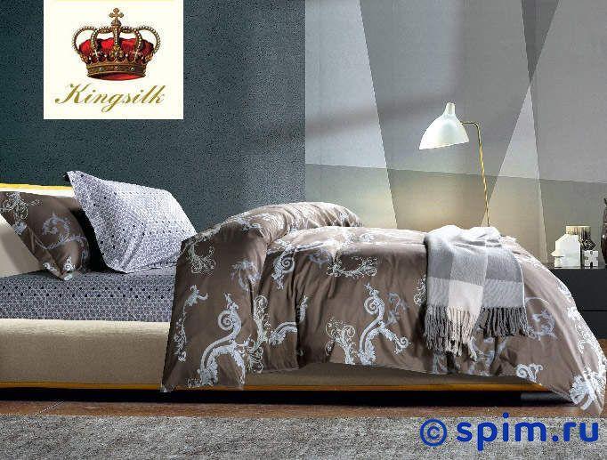 Комплект Kingsilk Ux-140 2 спальноеПостельное белье KingSilk<br>Материал: сатин (100% хлопок). Плотность, г/м2: 130-135. Размер КингСилк Ух: 2 спальное<br><br>Размер: 2 спальное