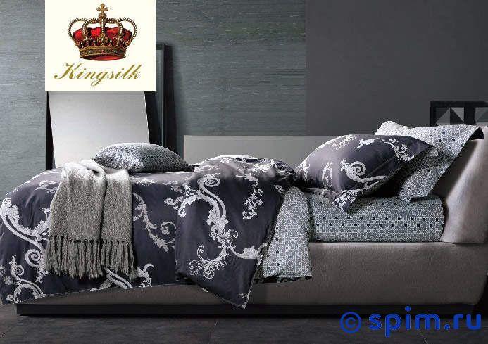 Комплект Kingsilk Ux-144 СемейноеПостельное белье KingSilk<br>Материал: сатин (100% хлопок). Плотность, г/м2: 130-135. Размер КингСилк Ух: Семейное<br><br>Размер: Семейное
