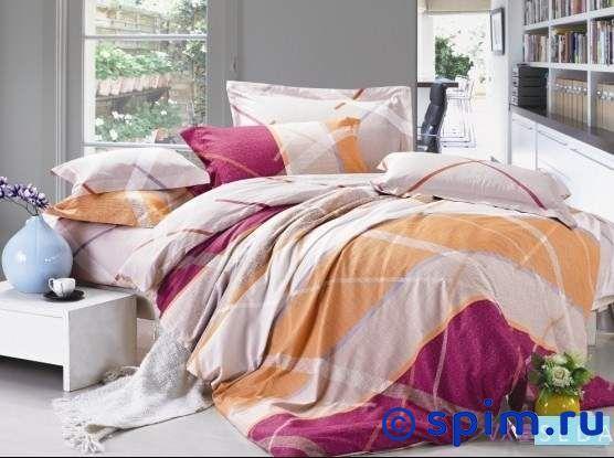 Комплект KingSilk Vx-6 Евро-стандартПостельное белье KingSilk<br>Материал: сатин (100% хлопок). Плотность, г/м2: 120-125. Размер : Евро-стандарт<br><br>Размер: Евро-стандарт