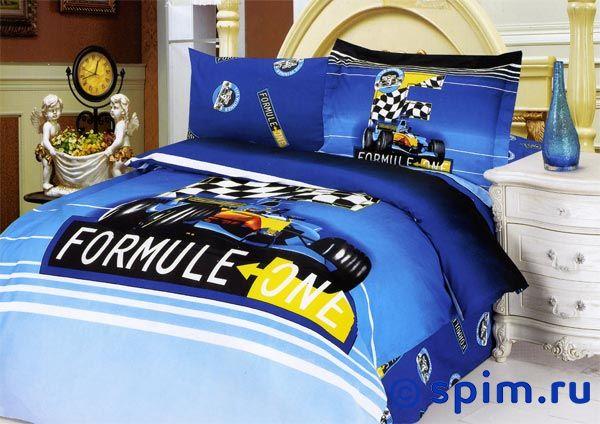 Постельное белье LeVele (ЛеВеле) Formula Blue 1_5_bed