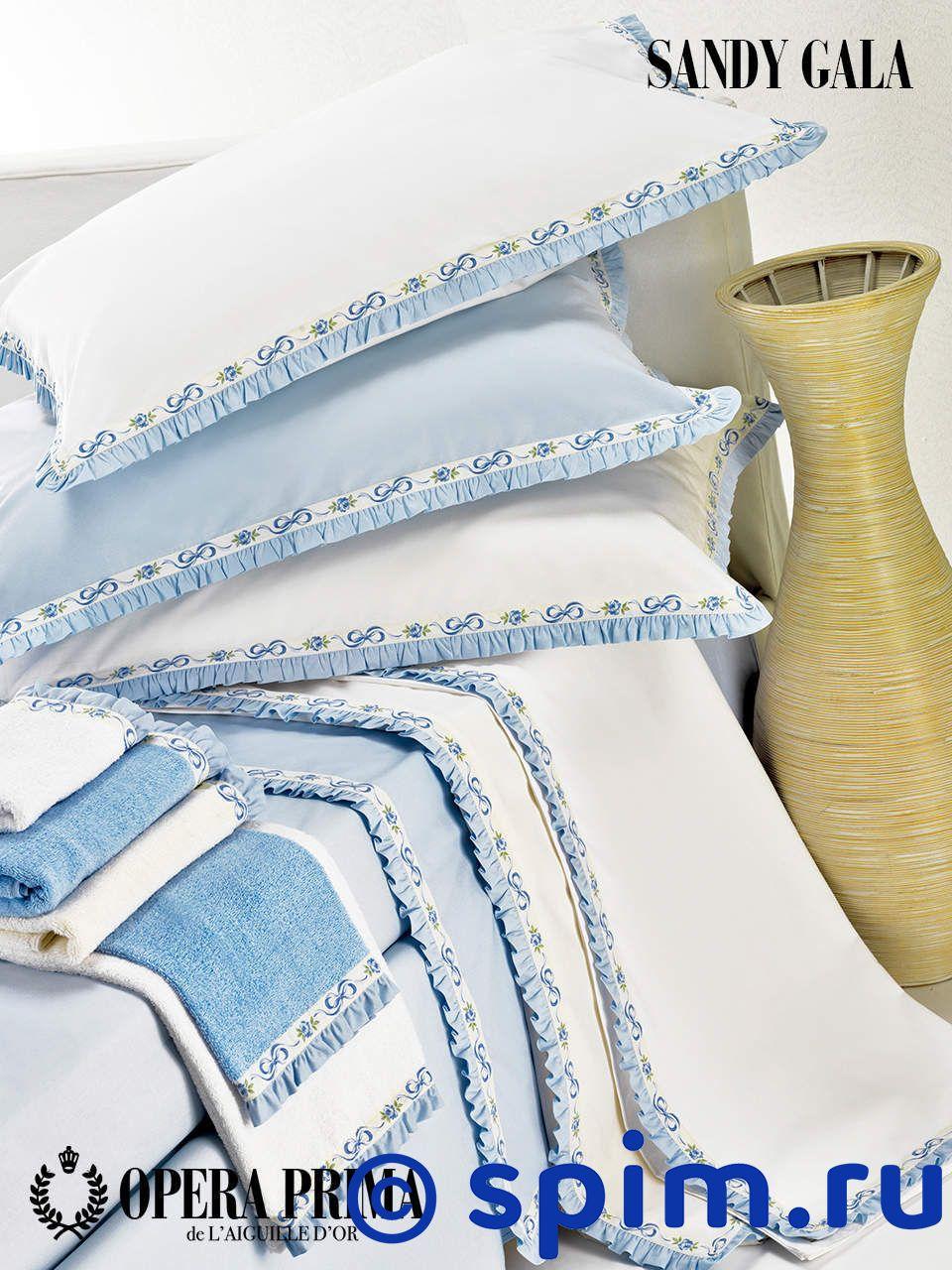 Комплект Opera Prima Sandy Gala Евро-стандартПостельное белье Opera Prima<br>Материал: 100% египетский мерсеризованный хлопок, перкаль. Поверхностная плотность: 200Тс. Размер Опера Прима Санди Гала: Евро-стандарт<br><br>Размер: Евро-стандарт