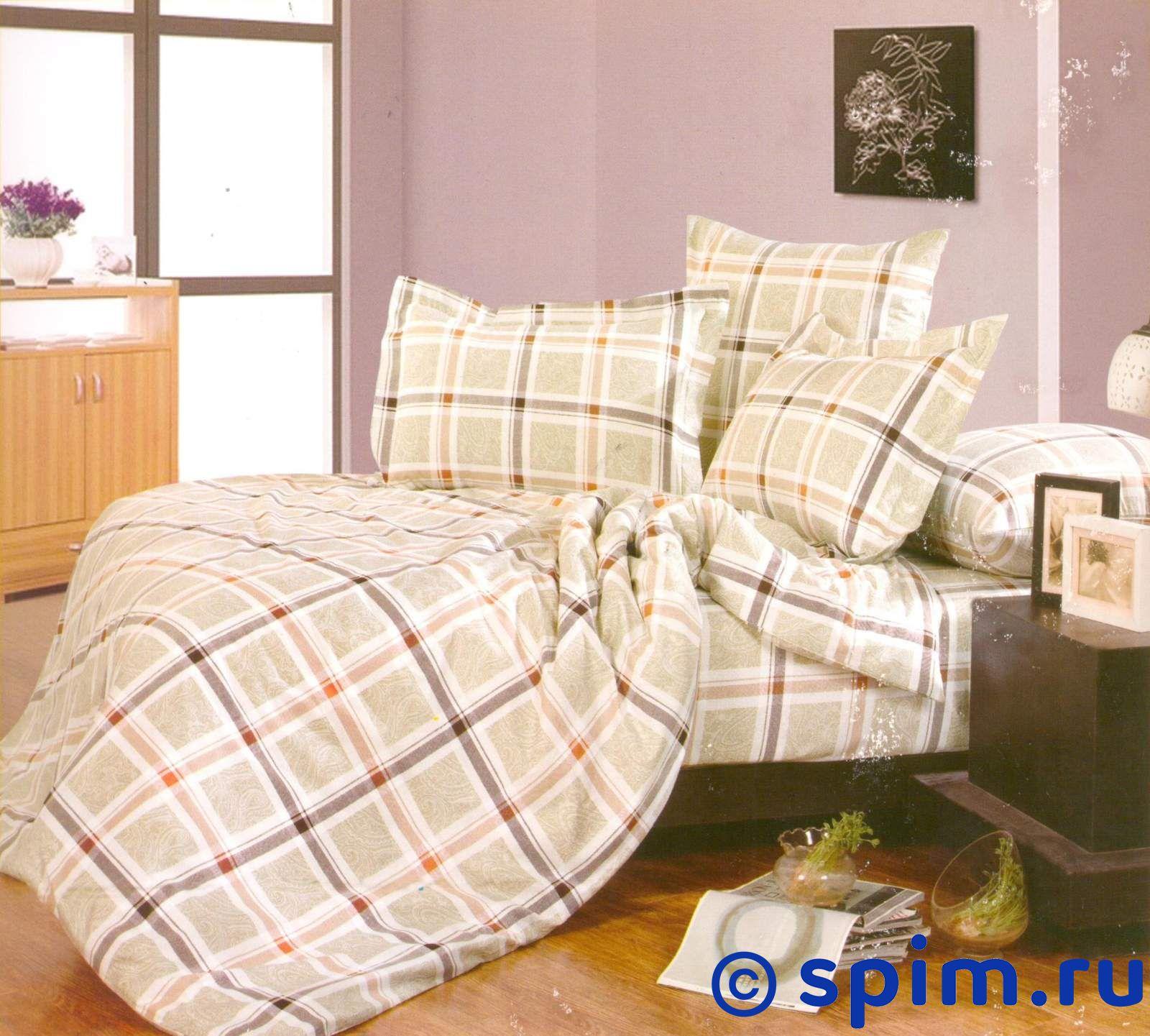 Комплект СайлиД А135 СемейноеПостельное белье СайлиД<br>Материал: 100% хлопок (поплин). Плотность, г/м2: 125. Размер : Семейное<br><br>Размер: Семейное