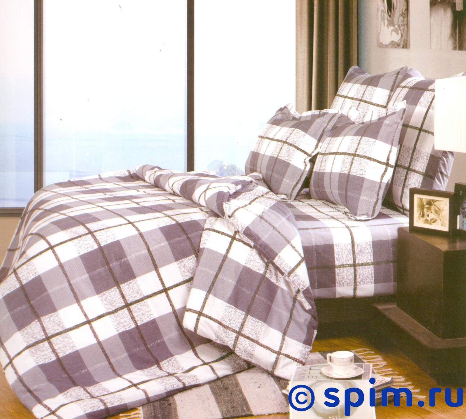 Комплект СайлиД А139 СемейноеПостельное белье СайлиД<br>Материал: 100% хлопок (поплин). Плотность, г/м2: 125. Размер : Семейное<br><br>Размер: Семейное