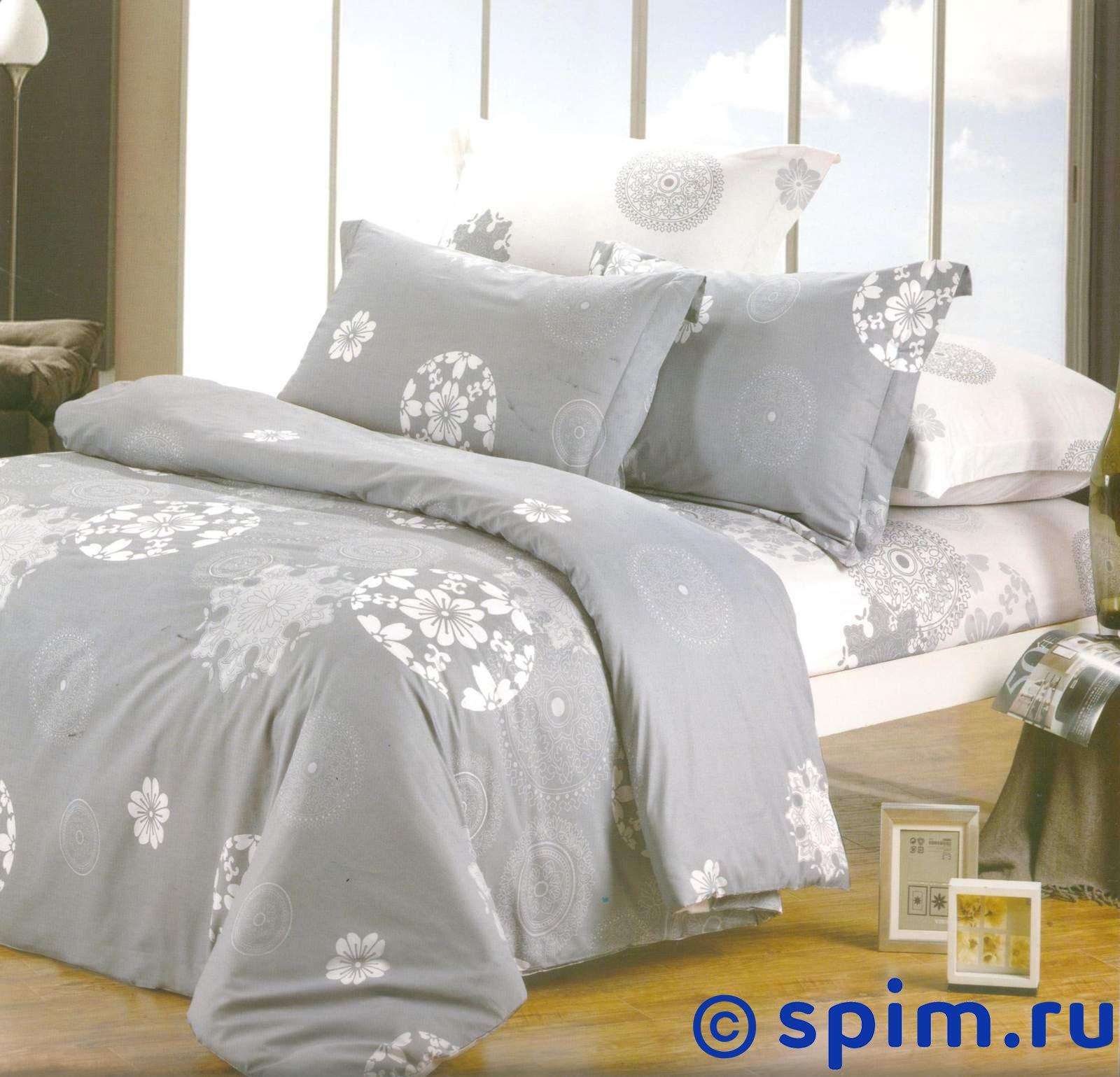 Комплект СайлиД В100 Евро-стандартСатиновое постельное белье СайлиД<br>Материал: 100% хлопок (печатный сатин). Плотность, г/м2: 130. Размер Sailid Б: Евро-стандарт<br><br>Размер: Евро-стандарт