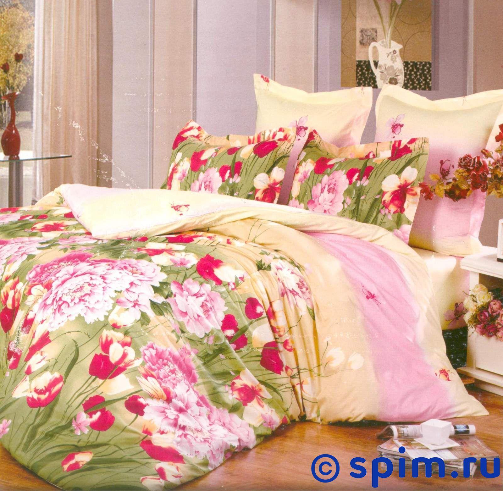 Комплект СайлиД В115 СемейноеСатиновое постельное белье СайлиД<br>Материал: 100% хлопок (печатный сатин). Плотность, г/м2: 130. Размер Sailid Б: Семейное<br><br>Размер: Семейное