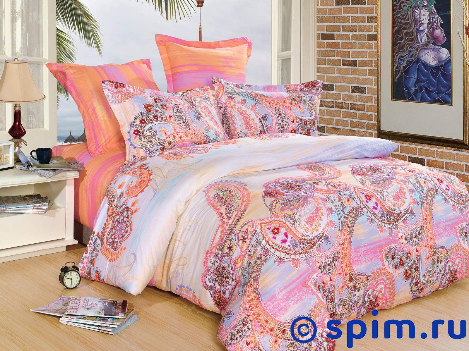 Комплект СайлиД В130 1.5 спальноеСатиновое постельное белье СайлиД<br>Материал: 100% хлопок (печатный сатин). Плотность, г/м2: 130. Размер Sailid Б: 1.5 спальное<br><br>Размер: 1.5 спальное
