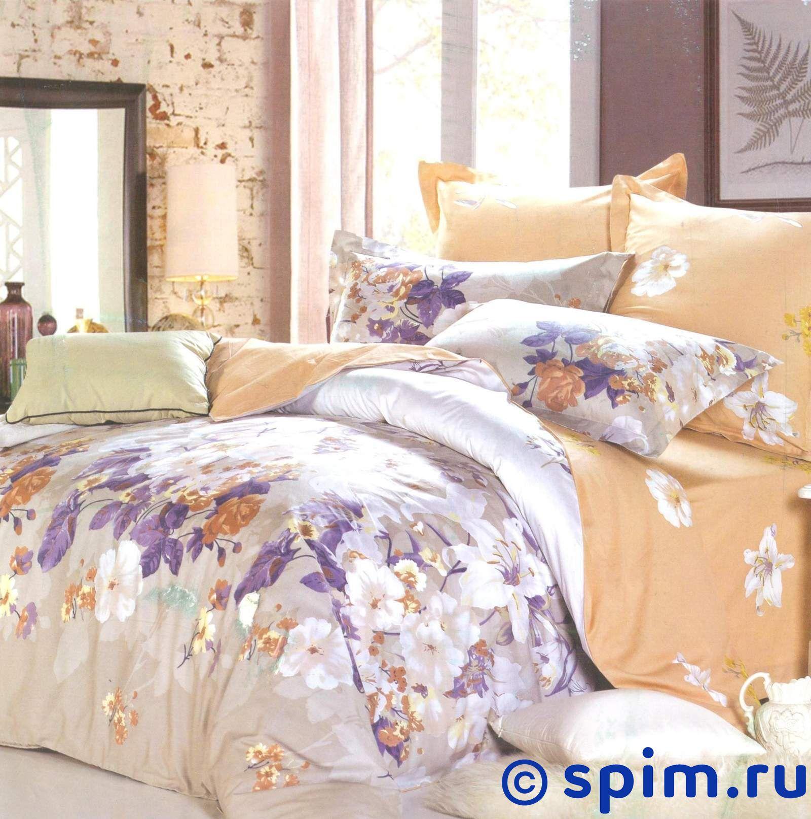 Комплект СайлиД В145 СемейноеСатиновое постельное белье СайлиД<br>Материал: 100% хлопок (печатный сатин). Плотность, г/м2: 130. Размер Sailid Б: Семейное<br><br>Размер: Семейное