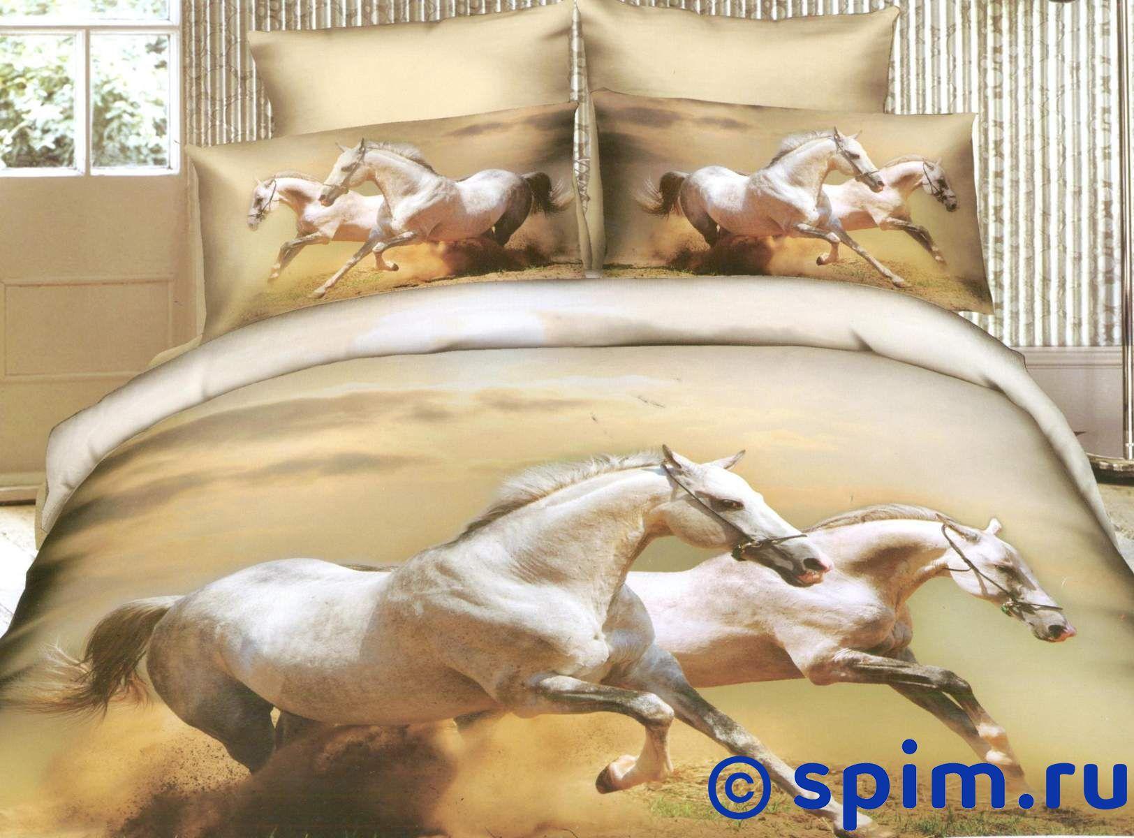 Комплект СайлиД G101 2 спальноеСатиновое постельное белье СайлиД с фотопечатью<br>Материал: 100% хлопок (сатин, фотопечать). Плотность, г/м2: 130. Размер Sailid Г: 2 спальное<br><br>Размер: 2 спальное