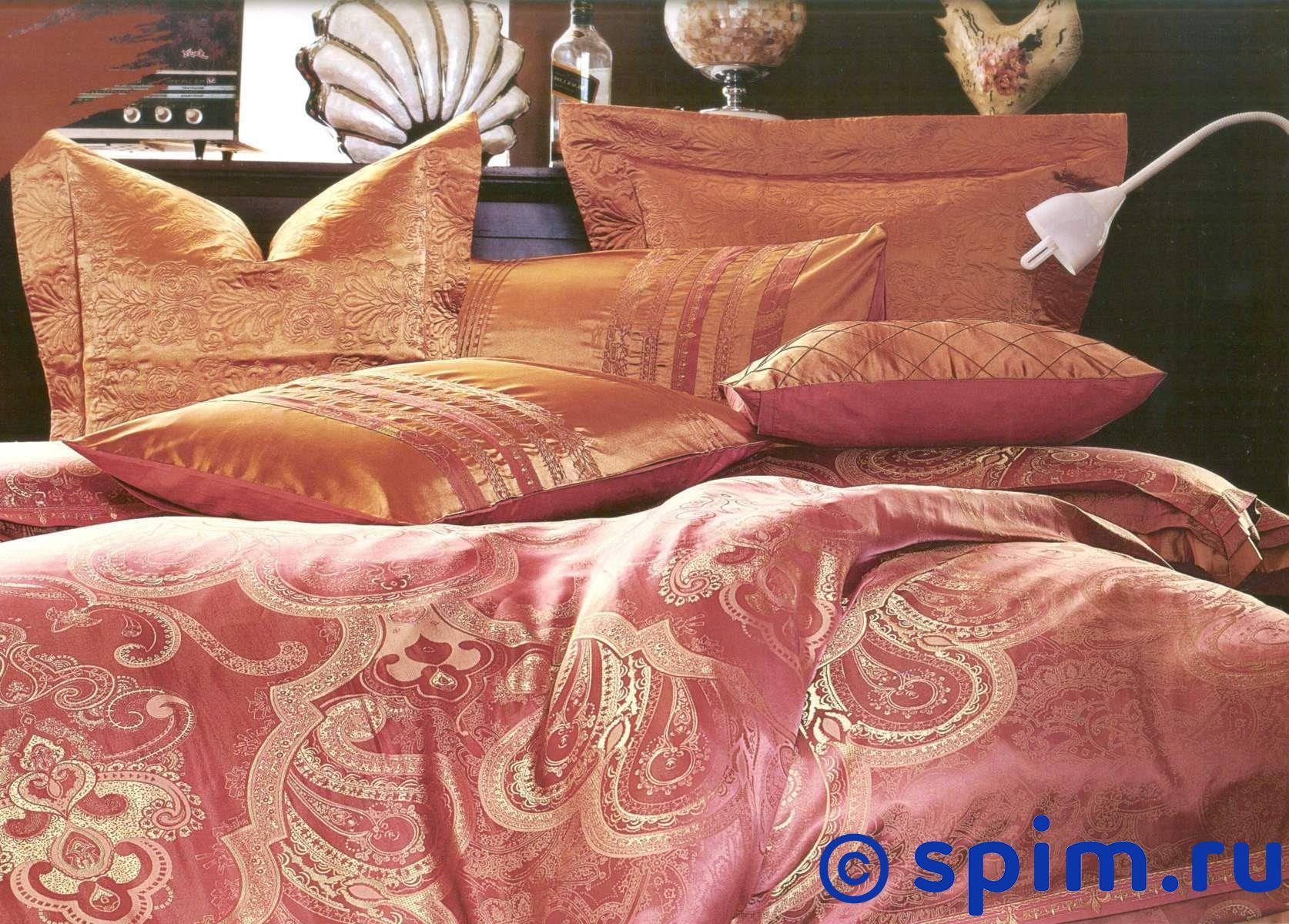 Комплект СайлиД К64 Евро-стандартЖаккардовое постельное белье СайлиД<br>Материал: простыня, нижняя часть пододеяльника и 2 наволочки из 100% хлопка (сатина); верхняя часть пододеяльника и 2 наволочки из жаккарда с вискозой. Плотность, г/м2: 140. Размер : Евро-стандарт<br><br>Размер: Евро-стандарт