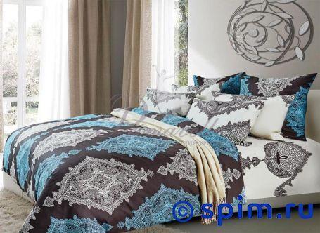Комплект Primavelle Истен 1.5 спальноеПостельное белье Primavelle<br>Материал: 100% хлопок, бязь. Плотность, г/м2: 135. Размер Примавелль: 1.5 спальное<br><br>Размер: 1.5 спальное