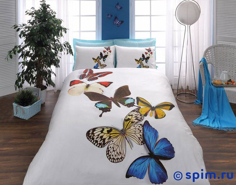 Комплект 3D Butterflies 1.5 спальное