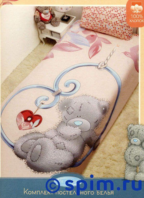Комплект Disney Мишка Teddy с сердечкомДетское постельное белье Disney<br>Материал: 100% хлопок (бязь). Плотность, г/м2: 115.<br>