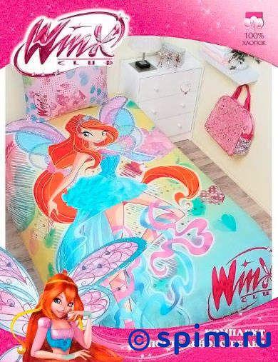 Комплект Disney Winx Bloom 2013Детское постельное белье Disney<br>Материал: 100% хлопок (бязь). Плотность, г/м2: 115.<br>