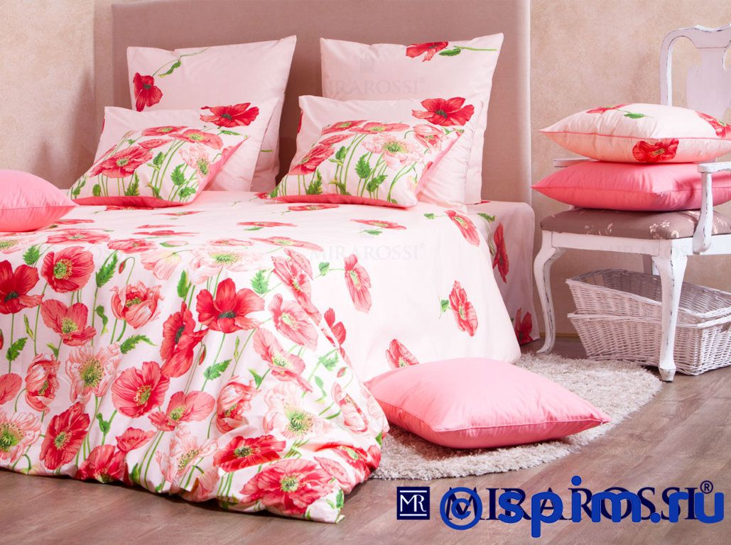 Комплект Mirarossi Carolina pink 1.5 спальное