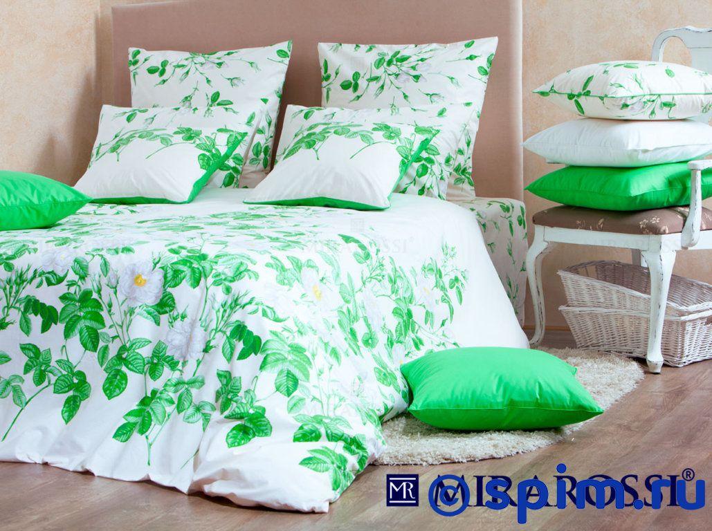 Комплект Mirarossi Patrizia white 2 спальноеПостельное белье Mirarossi<br>Материал: 100% хлопок (перкаль-люкс). Плотность, г/м2: 135. Размер Мираросси Патриция белый: 2 спальное<br><br>Размер: 2 спальное