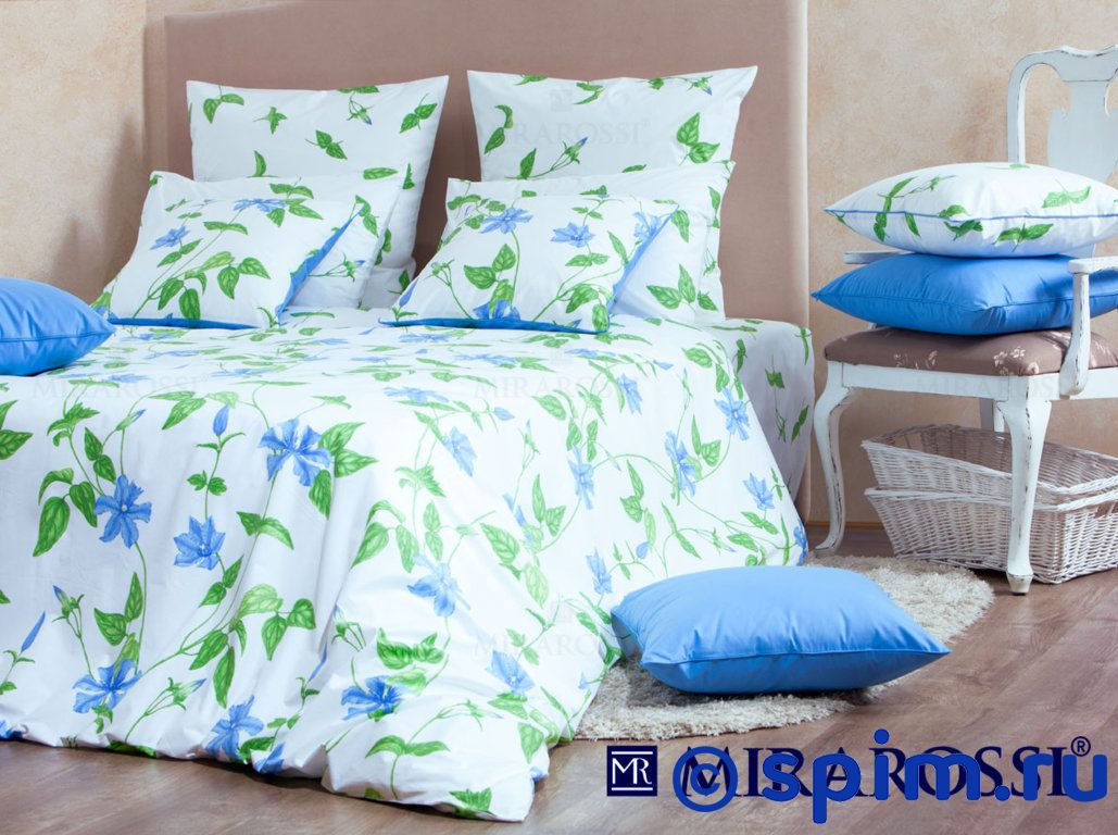 Комплект Mirarossi Veronica blue 1.5 спальное