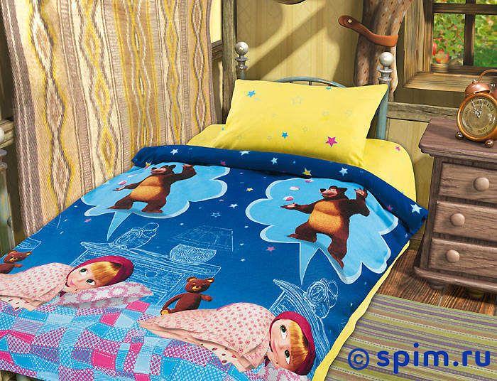 Комплект в детскую кроватку Машин сон Непоседа