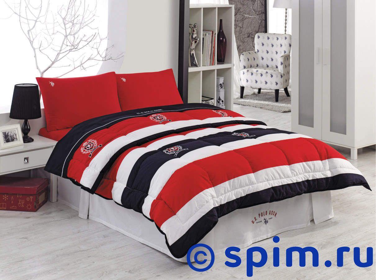 Комплект Us Polo Chesterland с одеялом-покрывалом 1.5 спальное