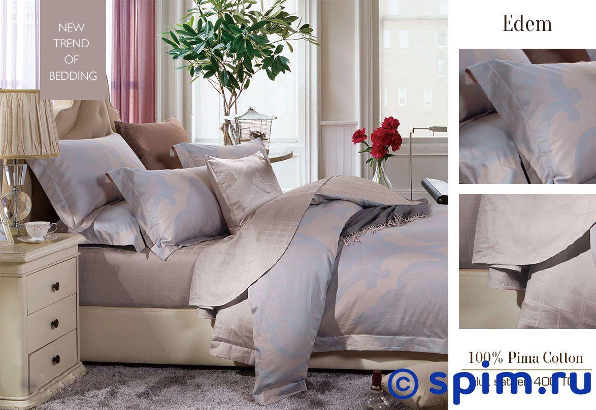 Комплект Sharmes Edem 1.5 спальноеПостельное белье Sharmes<br>Материал: 100 % хлопок (сатин класса Premium). Плотность: 400 нитей/дюйм. Размер Шармез Эдем: 1.5 спальное<br><br>Размер: 1.5 спальное