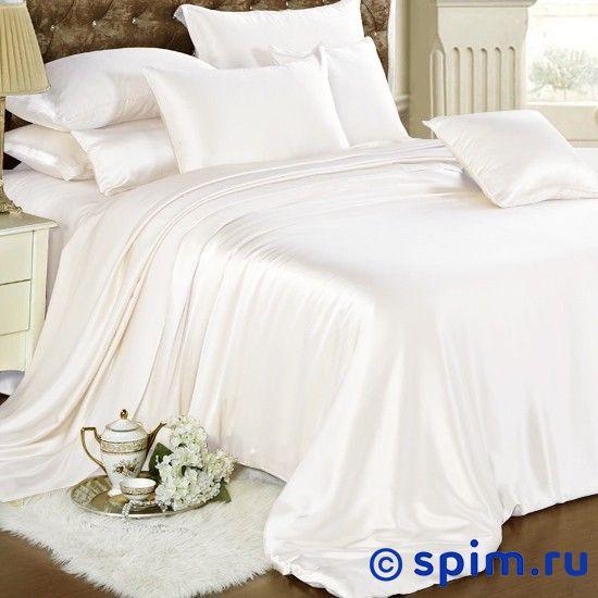 Комплект Luxe Dream Белоснежный Евро-стандартШелковое постельное белье Luxe Dream<br>Состав: 100% натуральный шелк сорта Mulberry. Плотность: 19 мамми. Размер Люкс Дрим: Евро-стандарт<br><br>Размер: Евро-стандарт