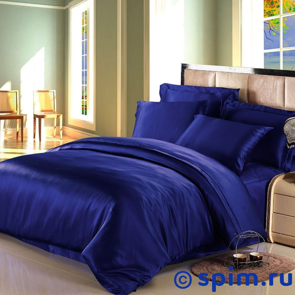 Комплект Luxe Dream Синий Семейное