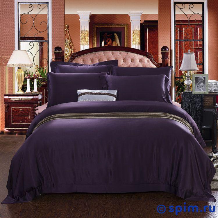 Комплект Luxe Dream Пурпурный Евро-стандарт